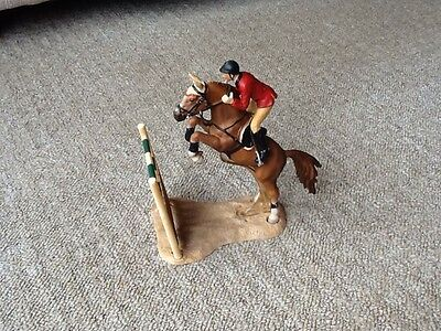 Schleich Show Jumping Horse And Rider