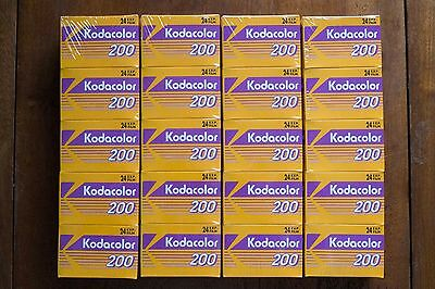 20 Rolls Kodacolor 200 35mm films 24 exposure - Expired New Old Stock - Lomo