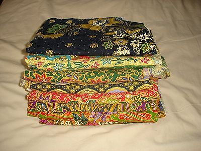 Bundle Of Batik Beauty Salon Sheets Spa Massage Cover Up Sarong