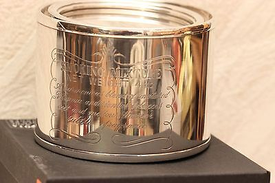 Tabakdose, Befeuchter, 925 Silber,SMOKING MIXTURE 4 oz, Neu, Handmade by DAKOTA