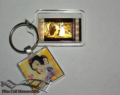 Snow White - 35mm Film Cell Movie KeyRing and Pendant Keyfob Gift