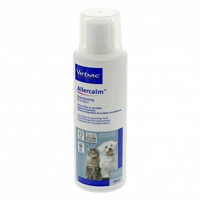 Shampoing Allercalm pour chiens et chats flacon 250 ml