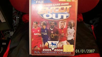 Shoot Out - Trading Cards album-with game board inside- 2005/2006