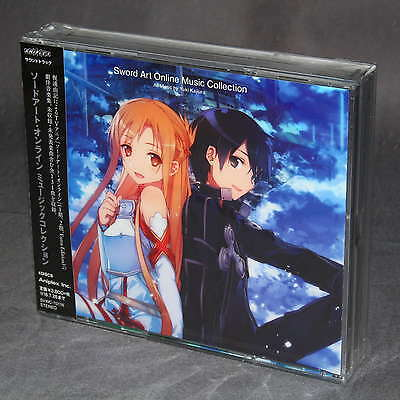 Sword Art Online Music Collection Japan Anime CD Soundtrack NEW