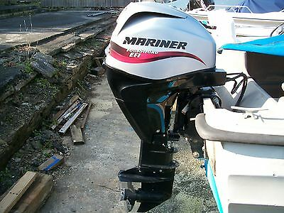 2007 MARINER 30 HP EFi FOUR STROKE LONG SHAFT PTT OUTBOARD ENGINE MOTOR