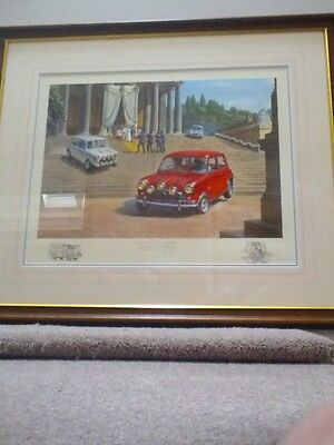 """Tony Smith The Italian Job """"To have and to hold"""" limited edition print, framed."""