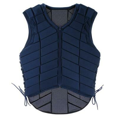 Horse Riding Safety Vest Equestrian Body Protective Gear for Kids Adult XS-XXXL