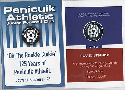 "Penicuik Athletic ""Oh The Rookie Cuikie"" Brochure 2013"