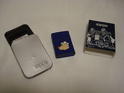 Popeye Limited Edition Leather Zippo Lighter KFS