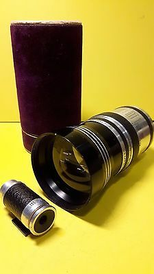 Corfield Tele Lumax  3.5 135mm lens With Rare matching finder