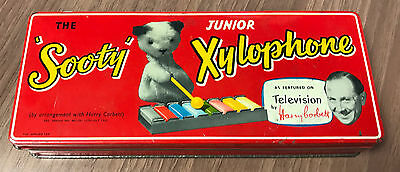 Vintage 1950s The Sooty Junior Xylophone Children's Toy