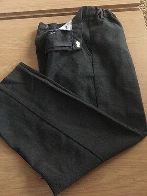 boys grey school trousers age 8 From BHS