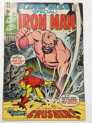 Marvel Comics IRON MAN KING SIZE SPECIAL 1971 Issue 2 **Free UK Postage**