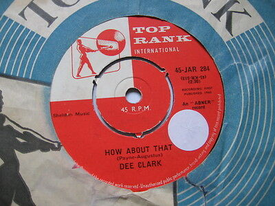 Dee Clark - How About That Vg