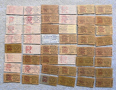 48 COUNTY DONEGAL RAILWAYS JOINT COMMITTEE (CDRJC) return tickets