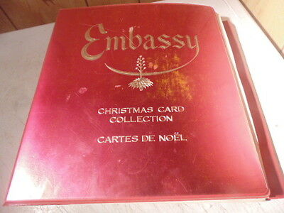 Mid Century Embassy Christmas Card Catalog, Salesmans Sample
