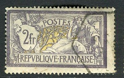 FRANCE;  Early 1900 Merson issue fine used 2Fr. value