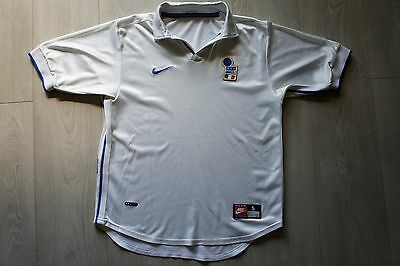 maillot jersey ITALIE (italy) NIKE 1998 Taille S super état