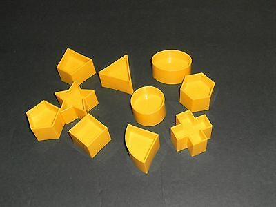 Tupperware Shape-O Ball Shape Puzzle REPLACEMENT 10 PIECES ONLY *FREE SHIPPING*