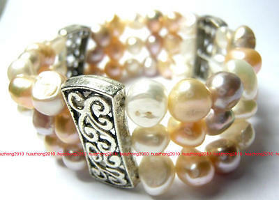 NATURAL SOUTH SEA Strand of the PEARL BRACELET multicolor  JK0023