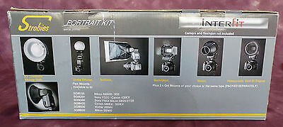 Interfit Strobies Portrait Flash Speedlight Kit - STR100