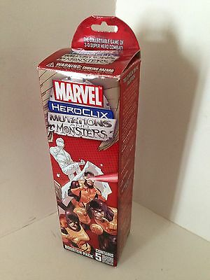 Marvel Heroclix Booster Pack Mutations & Monsters, 5 Miniatures