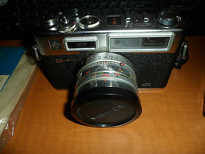 Vintage Yashica  Electro 35 Gs Camera Set- Three Lens