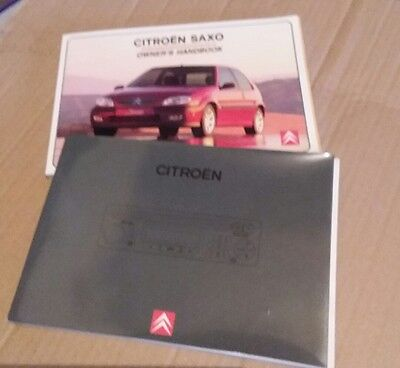 citroen saxo handbook and audio guide