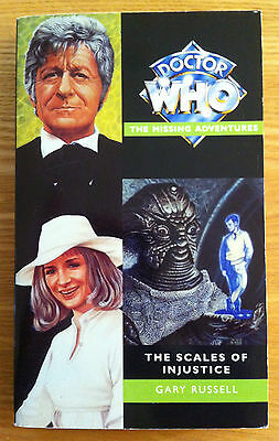 Doctor Who The Scales Of Injustice Virgin Missing Adventure near mint & unread