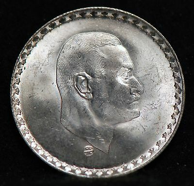 Egypt, 1970 25  Piastres, silver, About Uncirculated+, No Reserve           8ggm
