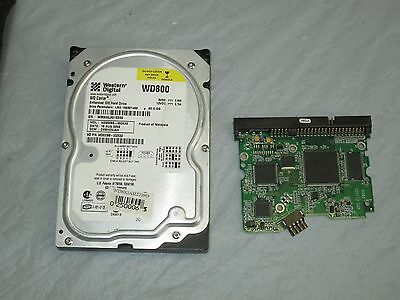 WD PCB ONLY  WD800BB-00DKA0 2061-00159-100 EB 80 gb  TESTED WORKING GREAT