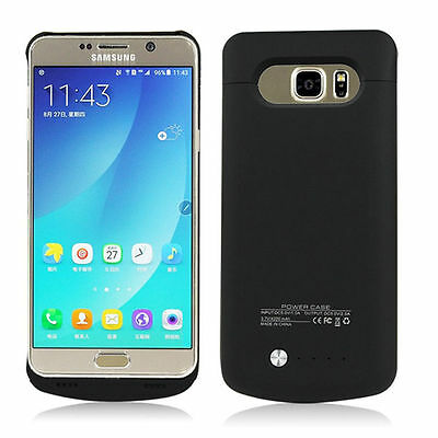 Ultra-Thin Power Bank Battery Backup Case Charger Cover for Samsung Galaxy Note5