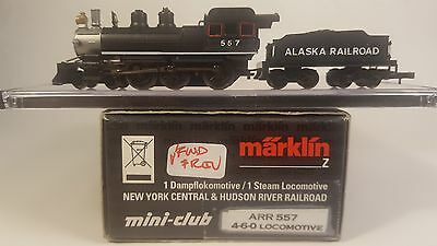 Z Scale Marklin Custom 4-6-0 Steam Locomotive ARR 557 (with Tender)