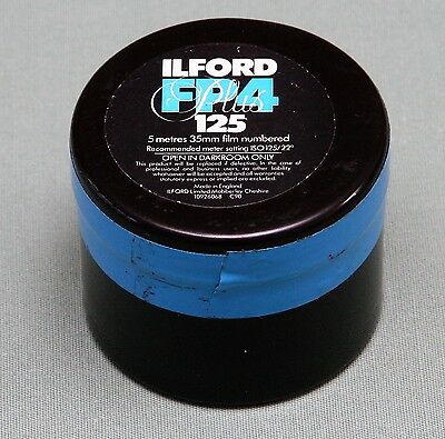 Vintage Ilford FP4 125 5 metre of 35mm Film Exp Apr 1997 New old Stock