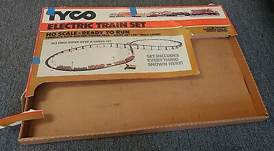 "No 7315 Tyco HO Scale ""Super Over and Under"" Electric Train Set"