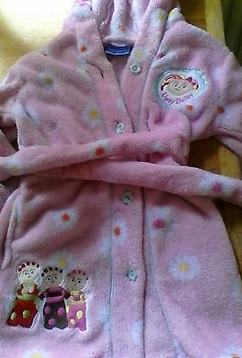 In the night garden dressing gown age 3 years by bhs