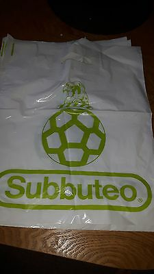 Subbuteo   4X New Unused Carrier Bags