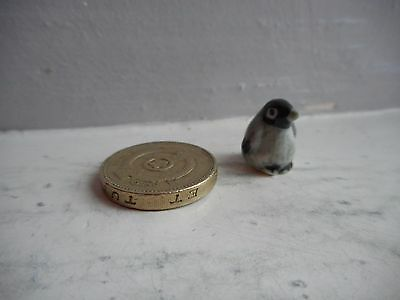 Penguin Chick - Pottery -  Collectable  Miniature,- Tiny  Little Penguin Chick