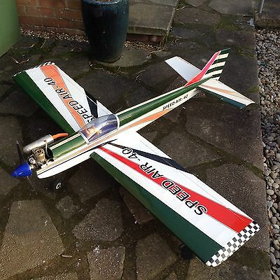 Rc Plane speed air 40 low wing trainer