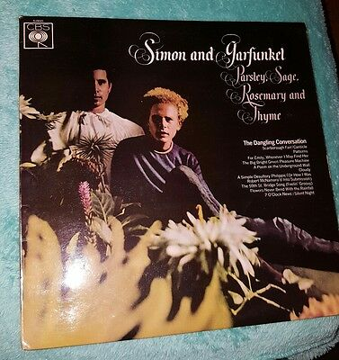 Simon and Garfunkel Parsley Sage Rosemary and Thyme Album  Record Heavy Vinyl