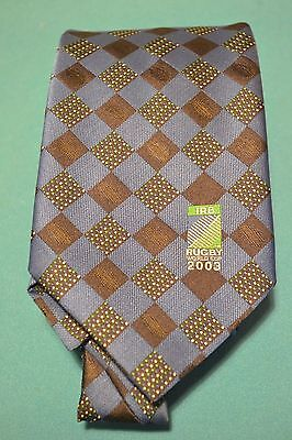 Rugby World Cup IRB 2003 Rugby Union Official Tie