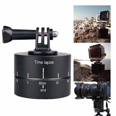 360 Degrees Panning Rotating Time Lapse Stabilizer for GoPro Camera Mobile Phone