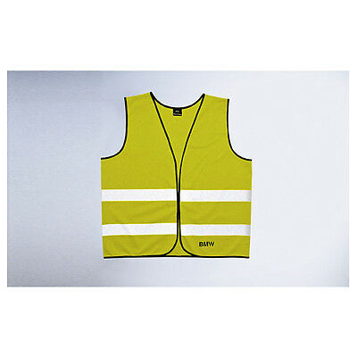Original BMW Reflective vest neon yellow in twin pack