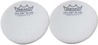 "Remo 2.5"" Falam Slam Patch For Bass Drum Head, 2 Pieces"