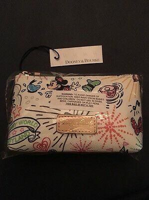 Disney Dooney & Bourke Sketch Cosmetic Bag Case NWT Sold Out