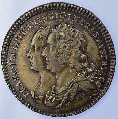Lorraine - 1736 Marriage of Francis III and Maria Theresa of Austria by Donner