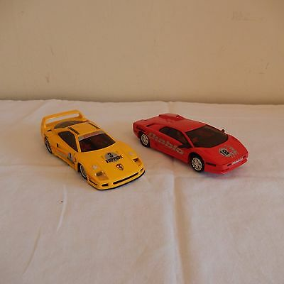 pair of Hornby Scaletrix sports cars