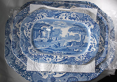 Set of 3 Spode Copeland Italian Serving Plates Possibly Dated 1941