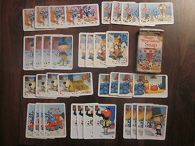 Magic Roundabout 'Snap' playing cards - full set from the 1970s
