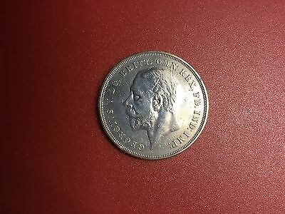 George V Silver Crown very good condition